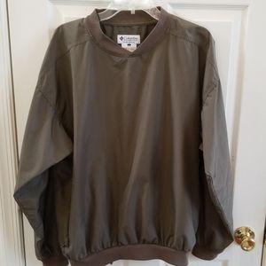 Columbia Mens pullover nylon waterproof jacket